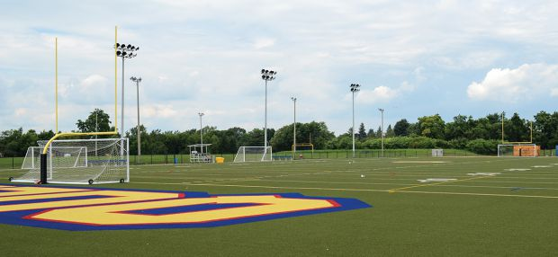 The West Campus artificial turf field was at the heart of residents' complaints.
