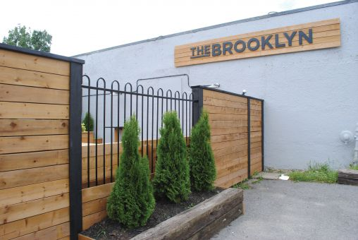 Tucked away on Garrett St., the Brooklyn features a variety of craft beers.