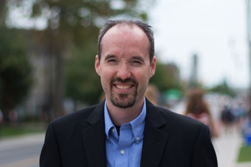 Bryan Paterson wants to consult with students on their issues.