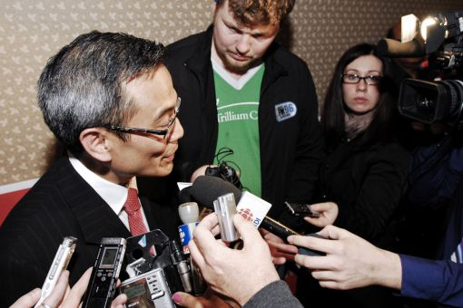 Ted Hsu won't run for a second term as MP in 2015.