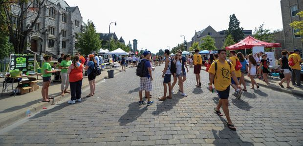 The annual Sidewalk Sale helped Shinerama raise over $93,000 this year.
