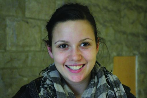 ": ""People who aren't informed about what they're voting for might focus on [politicians'] looks."" Stephanie Carswell, Sci '16"