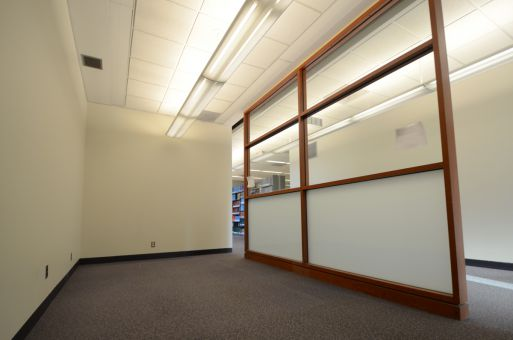 The new prayer room at Stauffer Library.
