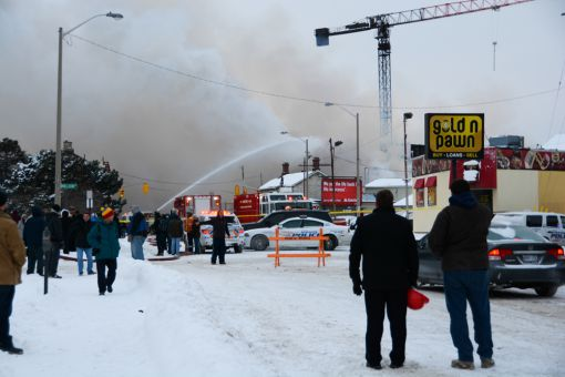 663 Princess St. was the site of a fire in December.
