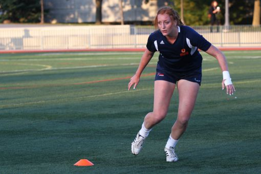 Lauren McEwen has tallied 163 points during her four years with the Gaels, the most in the program's history.