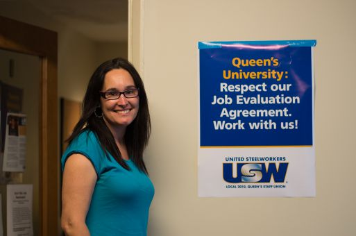 Kelly Orser, president of United Steelworkers Union Local 2010 and 2010-01, hopes to see the union and University return to the bargaining table by the end of the year.