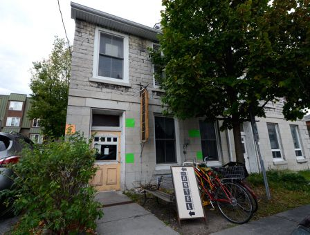 The Artel, pictured above, is a quaint artist hub at the corner of Queen and Sydenham Streets.