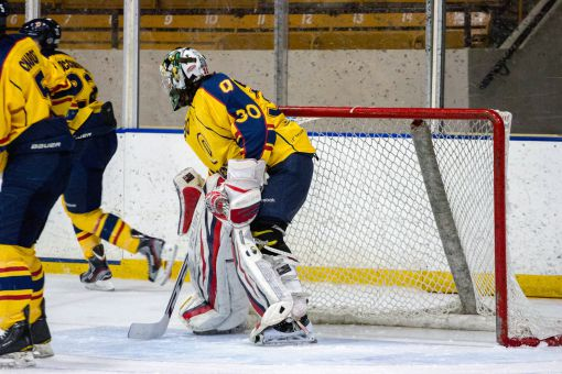 Kevin Bailie was named the CIS Rookie of the Year and OUA East MVP after posting a 1.98 goals against average and a league-best .934 save percentage.