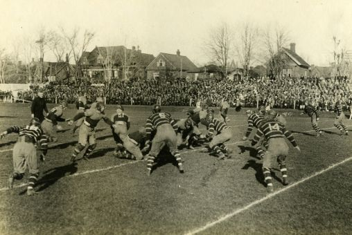 """The once-annual """"Kill McGill"""" game and the rivalry that came with it became a thing of the past after Queen's and McGill moved to separate football conferences."""