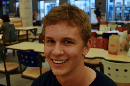 """""""Just partying, excited after [Homecoming's] been banned for so long."""" Michael Hollingshead, ArtSci '18"""