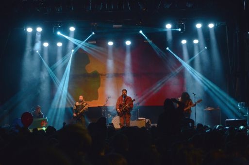 The Sheepdogs performed at the ReUnion Street Festival on Saturday night.