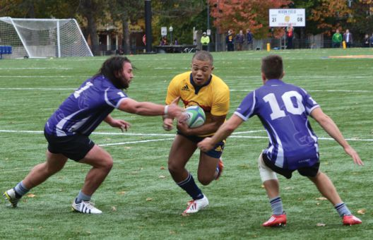 Wing Kainoa Lloyd's 70-metre run set up the Gaels first try of the match.