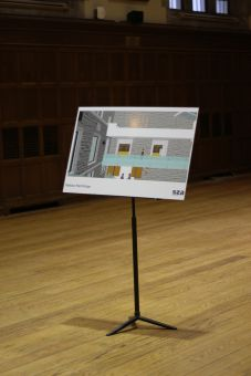 One proposed project is building a bridge alongside the Wallace Hall exterior, crossing the Upper Ceilidh.