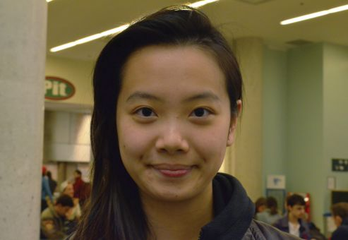"""I haven't registered yet, I had no idea about the election."" Vivian Wu, ArtSci '16"