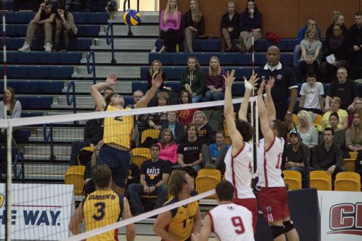 Outside hitter Markus Trence (2) recorded 55 kills and 34 digs in 32 sets played last year.
