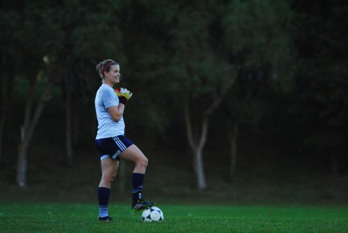 Madison Tyrell served as the Gaels goalkeeper on the way to a CIS silver medal in 2012.