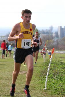 Second-year Alex Wilkie was the Gaels top male performer, finishing fifth.