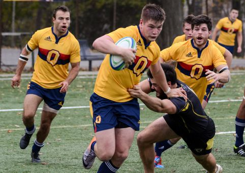 For the third year in a row, men's rugby finished the year atop the OUA.