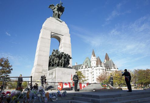 Cpl. Nathan Cirillo was shot on Wed, Oct. 22 as he guarded the National War Memorial in Ottawa.