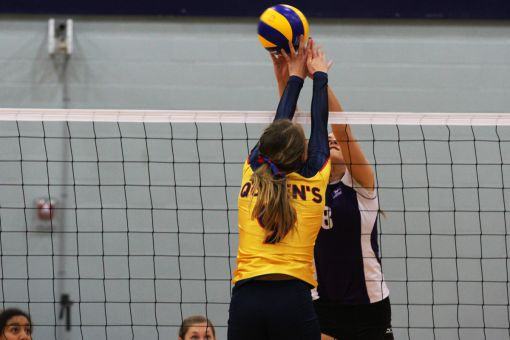 The Gaels converted on 13 of 71 attacks in the third set of their match with Toronto last Saturday.