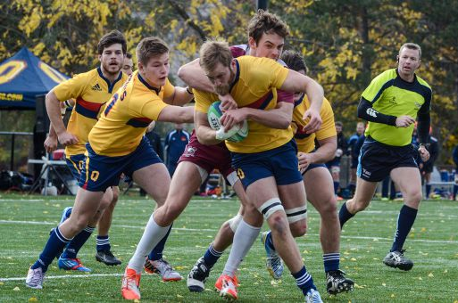 Fifth-year forward Tommy Kirkham is one of several Gaels with a chance to win a third straight OUA title tomorrow.
