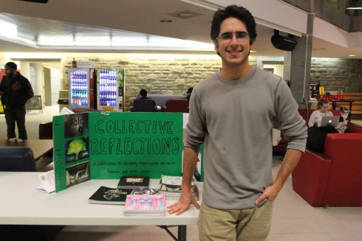 Collective Reflections was present at the open house.