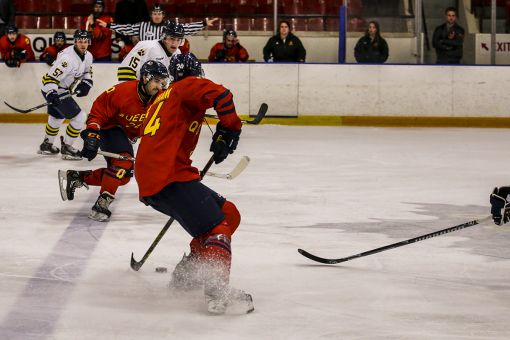 The Gaels blew their 6-5 advantage in the final 2:54 of the third period to lose Saturday's clash with Lakehead in overtime.