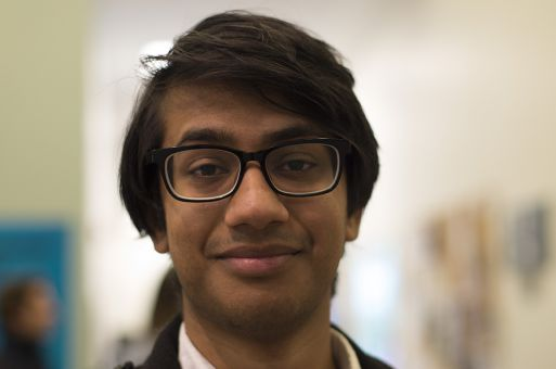 """I live in Wally, the walk won't be fun."" Sameer Gupta, ArtSci '18"