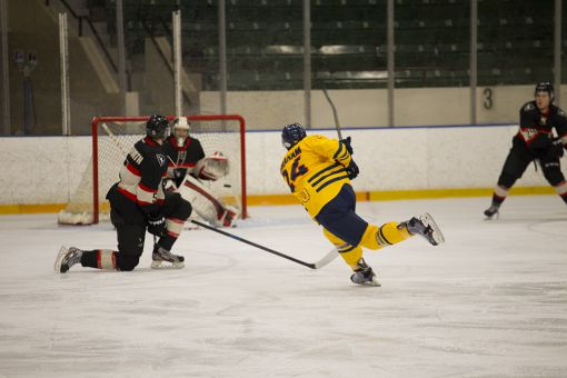 Defenceman Spencer Abraham leads the Gaels with 18 points this season.