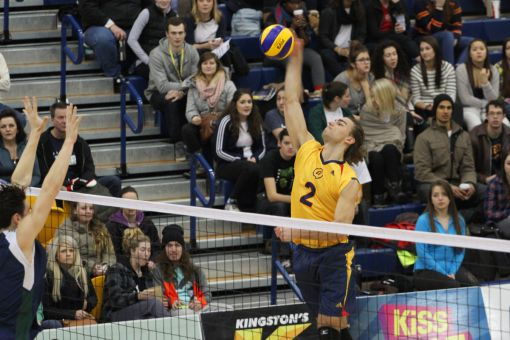 The Gaels have won eight of their last nine contests, including four in straight sets.