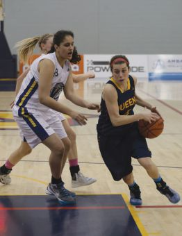 Emily Hazlett racked up 29 points and 14 rebounds in a pair of victories over the weekend.
