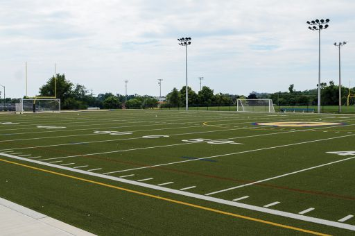 Miklas-McCarney Field was the second of three Queen's turf fields when it was built in 2011. The new Richardson Stadium will be the fourth turf field when it's built.