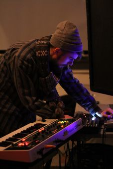 The artists came together with a variety of sounds to brighten the Artel.