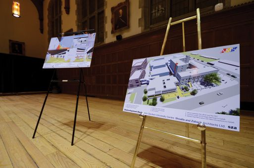 The AMS held an open house showing the long-term JDUC framework on Jan. 14.