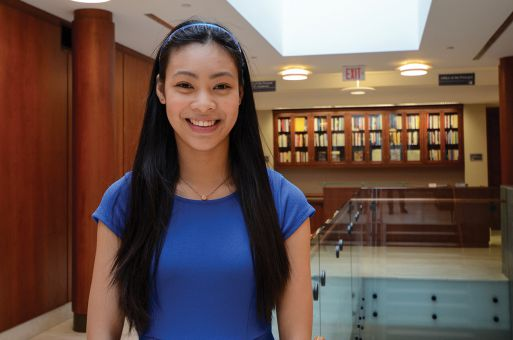 Jennifer Li says she'd ensure communication between students and the administration.