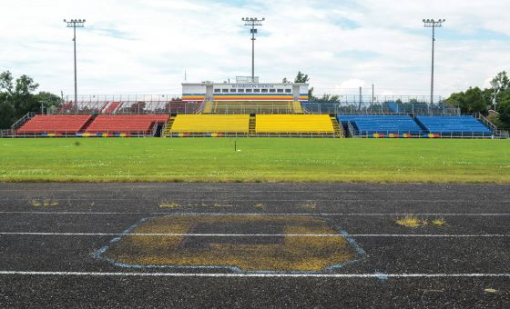 Construction on the new Richardson Stadium is expected to be finished in the fall of 2016. The revitalization project will cost $20.27 million to complete.
