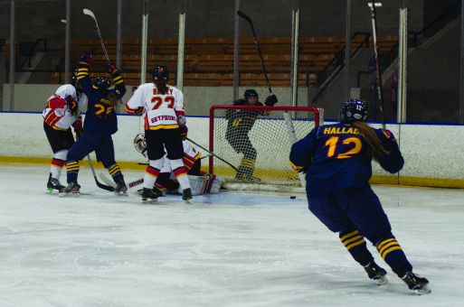 Rookie winger Addi Halladay scored twice in the Gaels' 4-3 shootout win over Brock.