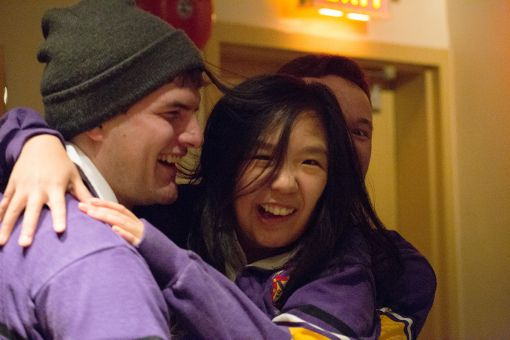 Julie Tseng became the incoming EngSoc president on Wednesday night.