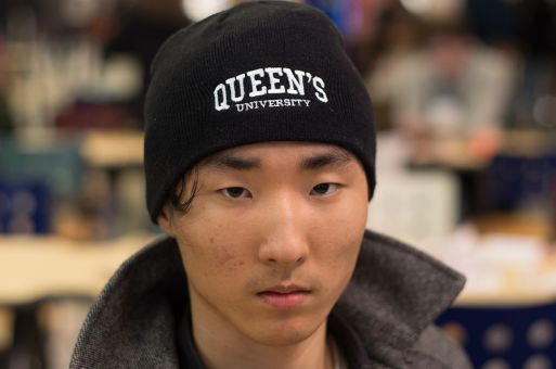 """Queen's has a bigger drinking culture than other universities."" Ming Gang Wang, Sci '18"