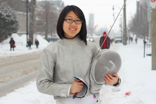 Before coming to Queen's, Lily Jiang trained with 1984 Olympic gold medalist Jujie Luan.