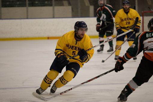 Darcy Greenaway leads all OUA rookies with 16 goals.