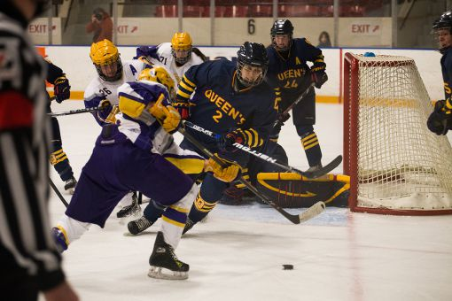 The Gaels victory on Saturday was their first victory over the Golden Hawks on home ice since Feb. 25, 2011.