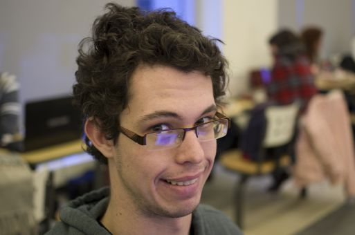 """""""I think the taxi service in Kingston now is still a viable way to get around."""" Patrick Norman, ArtSci '17"""