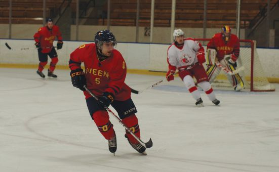 Rookie Darcy Greenaway tallied a team-high 16 goals for the Gaels this year.