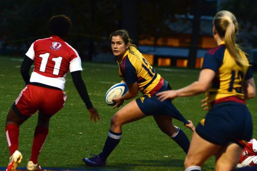 Nadia Popov was named OUA Rookie of the Year in 2012, her sole season as a member of the Gaels.