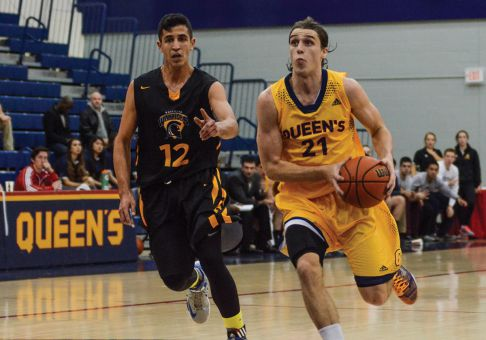 Gaels' leading scorer Greg Faulkner played this season after coming back from shoulder surgery in early 2014.