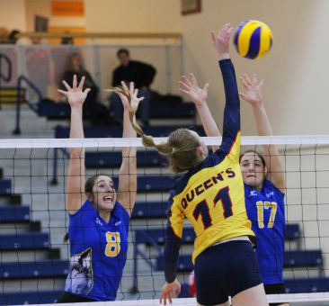 First-year outside hitter Caroline Livingston was named to the OUA East All-Rookie team.