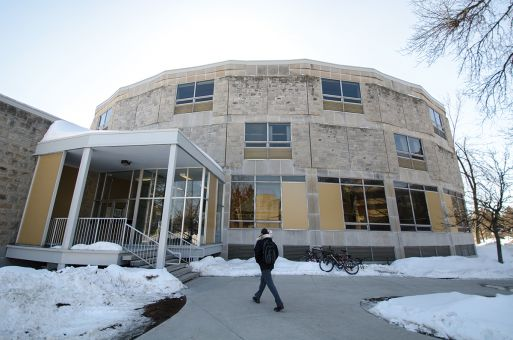 Stirling Hall, built in the 1960s, was assessed over Reading Week as part of a two-year accessibility audit.