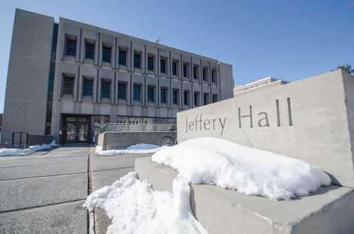 Jeffery Hall, built in the 1960s, was assessed over Reading Week as part of a two-year accessibility audit.