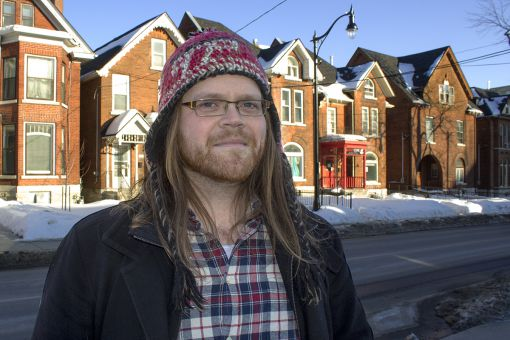 Lorne Beswick, who served as an organizer for the RA drive, wants to see graduate work recognized as work and students and researchers protected.